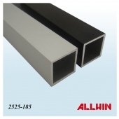 "Good Quality Anodized 1"" and 25mm Extrusion Aluminum Square Tube"