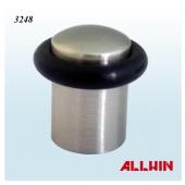 Stainless Steel Door Wedge Rubber Ring Sliding Door Stopper