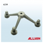 Stainless Steel 3 Way Arm Column Mount Spider