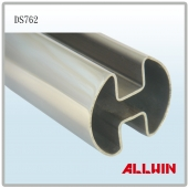 Stainless Steel Double Slot Round Tube