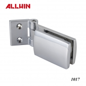 Rectangular Clip Glass Clamp Wall Mounted Glass Door Hinge
