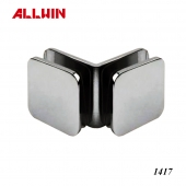 Heavy Duty Open Face 90 Degree Glass Clamps Glass to Glass