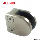 Stainless Steel Radius Base D shape Round Shape Mini Glass Clamp