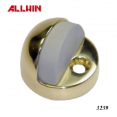 Brass Floor Dome Door Stopper