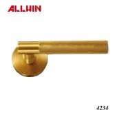 Modern Solid Brass Lever Door Handle