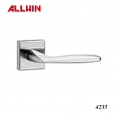 Fancy Solid Brass Polished Chrome Lever Handle