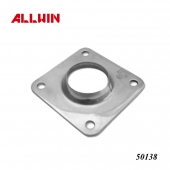 Stainless Steel Short Dome Neck Square Base Flange