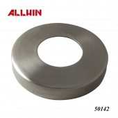 Stainless Steel Handrail Round Tube Base Plate Flat Cover