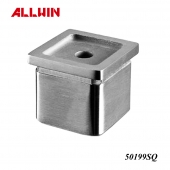 Handrail fitting Stainless Steel Universal Fitting Tube Adapter Perpendicular Collar Square Tube