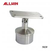 Adjustable Flat Saddle Round tube Hand Railing Saddle Stem Bracket