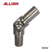 Adjustable angle tube Connector