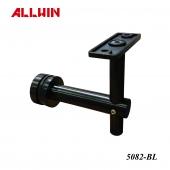 PVD Matte Black Stainless Steel Adjustable Handrail Bracket