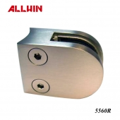 Stainless Steel Radius Base Handrail Glass Clamp
