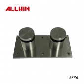 Stainless Steel Wall Mounting Plate Glass Rail Standoff Bracket
