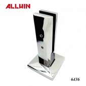 2205 Stainless Steel Hollow Design Glass Spigot Floor Mounted Square Spigot