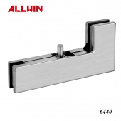 Stainless Steel Over Panel Side Panel Pivot Glass door Patch Fitting