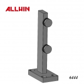 Aluminum Balustrade Glass Mini Post Bracket