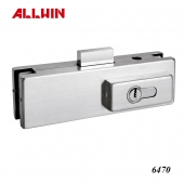 Stainless Steel Glass Patch Fitting Lock