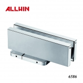 Bottom Patch Fitting Hydraulic Floor Spring Glass Door Close
