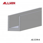 Glass Glazing Taiwan Aluminum Extrusion Mirror U Channel