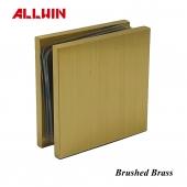 ALLWIN Electroplating Finish Color Sample Brushed Brass