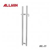 Stainless Steel Push Pull Door Handle ADA Locking Ladder Pulls