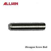 304 316 Stainless Steel Hexagon Screw Middle Screw