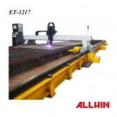 CNC Plasma Cutting Machine Plasma Cutting Extraction Table Dust Collector