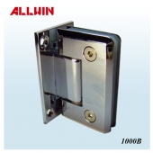 Round corner and Beveled Edge Stainless Steel or Brass Shower door hinge
