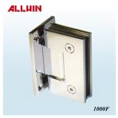 Good Electroplating Full Back Plate Square Corner Wall Mount Shower Door Hinge