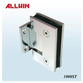 Stainless Steel or Brass Wall Mount Short Back Plate Shower Hinge