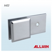 Solid Brass Wall Mount Shower Room Door Glass Clip