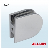 Beveled Wall Mounted Shower Door Glass Clamp