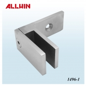 90 Degree Wall Mount Glass Bracket