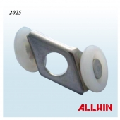 Double Nylon Patio Door Hanging Roller For Patio Cabin Door