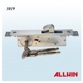 Narrow Stile Back Set Mortise Hook Dead Lock