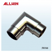 Stainless Steel Mitered Style 90 Degree Corner Tube Connector