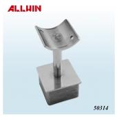 Stainless Steel Square Post Reducer Handrail Bracket