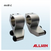 Left and Right Stainless Steel Top Rail Header Stopper