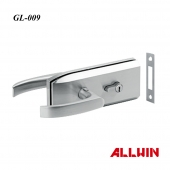 Double Side Lever Handle Glass Door Lock