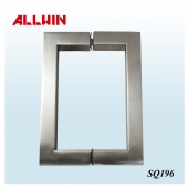 Stainless steel Square Glass Door Handle