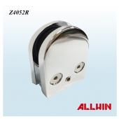 D Shape Radius Base Zinc Glass Clamp