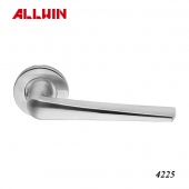 Stainless Steel Spring Oval Rose Lever Handle
