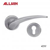 Stainless Steel door handles interior with lock