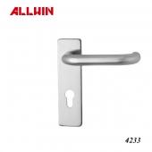 Professional european luxury door handle with lock