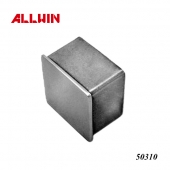 Casting Square Flat Aluminum End Cap