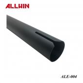 SGS Tested Customize Aluminum Extrusion Profile Black Tube Taiwan