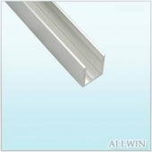 Anodized Aluminum U Channel Single Channel Extrusion Channel