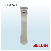 Arc Edge Curved Mouth Opening Stainless Steel Nail Clipper