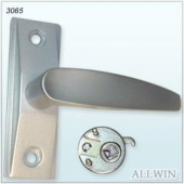 [3065] Lever Handle With CAM Plug